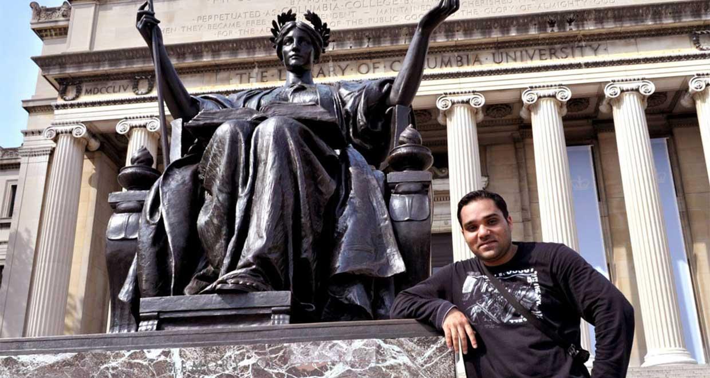 Khagesh Gautam, Masters in Law, Columbia University, on
